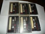 Аудиокассета кассета Basf Ferro Extra I 90 и 60 - 6 шт в лоте, фото №9