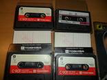 Аудиокассета кассета TOSHIBA C-90T и SoundBreeze CR-90 - 4 кассеты в лоте, фото №2