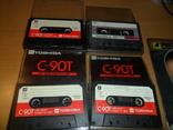 Аудиокассета кассета TOSHIBA C-90T и SoundBreeze CR-90 - 4 кассеты в лоте, фото №3