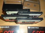 Аудиокассета кассета TOSHIBA C-90T и SoundBreeze CR-90 - 4 кассеты в лоте, фото №4