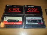 Аудиокассета кассета TOSHIBA C-90T и SoundBreeze CR-90 - 4 кассеты в лоте, фото №6