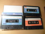 Аудиокассета кассета SNC HQ-1 C-90 и Low-noise-90 - 3 шт в лоте, фото №2