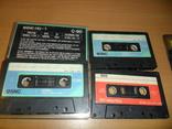 Аудиокассета кассета SNC HQ-1 C-90 и Low-noise-90 - 3 шт в лоте, фото №3