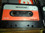 Аудиокассета кассета  SWING YOKO JVC STYLANDIA DX1 MEKOSONIC - 7 шт в лоте, фото №5