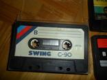 Аудиокассета кассета  SWING YOKO JVC STYLANDIA DX1 MEKOSONIC - 7 шт в лоте, фото №11