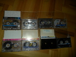 Аудиокассета кассета SQC Saehan KonicaT-Series Smat Prestige - 8 шт в лоте, фото №2