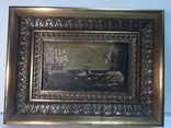 Старая Картина на морской мотив ( Холст, масло ) photo 1