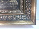 Старая Картина на морской мотив ( Холст, масло ) photo 5