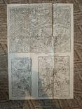 1914 г  Немецкая карта военных действий, фото №2
