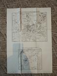 1914 г  Немецкая карта военных действий, фото №7