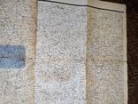 """1935г Карта """"Польша, Чехия"""",56х122 см, фото №6"""