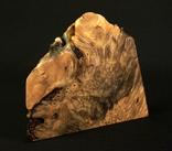 Настольные часы в деревянной подставке. Кварц. (0902) photo 3