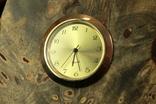 Настольные часы в деревянной подставке. Кварц. (0902) photo 7