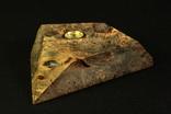 Настольные часы в деревянной подставке. Кварц. (0902) photo 8