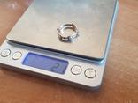 Колечко Украина серебро 925 проба. Позолота. Размер 18., фото №10