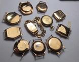 11 штук золотых часов (583* и 750*) photo 2