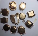 11 штук золотых часов (583* и 750*) photo 4
