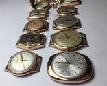 11 штук золотых часов (583* и 750*) photo 6