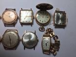 11 штук золотых часов (583* и 750*) photo 7