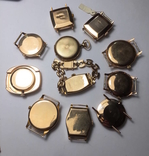 11 штук золотых часов (583* и 750*) photo 8