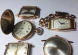11 штук золотых часов (583* и 750*) photo 11
