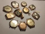 11 штук золотых часов (583* и 750*) photo 12