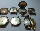 11 штук золотых часов (583* и 750*) photo 14