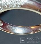 Золотое кольцо с бриллиантом 1.10 ct photo 4