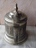 Коллекционная Пивная Кружка Бокал с изображением Святых. Клеймо, фото №6