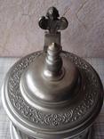Коллекционная Пивная Кружка Бокал с изображением Святых. Клеймо, фото №8
