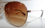 Солнцезащитные детские очки Aviator photo 2