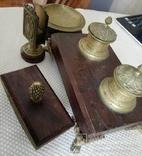 Письменный набор. Бронза photo 5