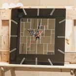 Часы настенные бесшовная мозаика, фото №2
