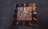 Часы настенные бесшовная мозаика, фото №3