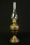 Старая керосиновая лампа. 530 мм. Винтаж. Европа. (0908) photo 2