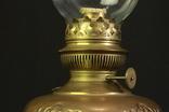 Старая керосиновая лампа. 530 мм. Винтаж. Европа. (0908) photo 3