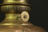 Старая керосиновая лампа. 530 мм. Винтаж. Европа. (0908) photo 4