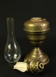 Старая керосиновая лампа. 530 мм. Винтаж. Европа. (0908) photo 7