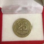 Монета 25 копійок 2003 року