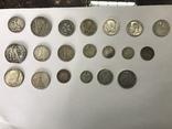 Лот серебряных монет photo 1