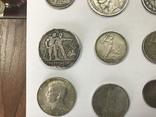 Лот серебряных монет photo 6
