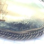 Брошка в срібном окладі,ручна роспись photo 4