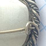 Брошка в срібном окладі,ручна роспись photo 8