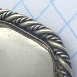 Брошка в срібном окладі,ручна роспись photo 9