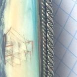 Брошка в срібном окладі,ручна роспись photo 10