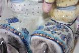 Фарфор СССР Коростень Трегубова В.М Послы на конях Под рестарвацию photo 8