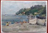 Г. Одесса, пляж. 1955 г. Костенко Ф.Т. photo 1