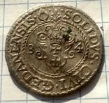 Солид 1584г .Гданск. Стефан Баторий. photo 4