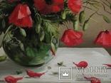 Маки в вазе 35/40,холст,масло. photo 6