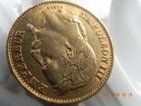 Франция 20 франков 1868 г photo 4